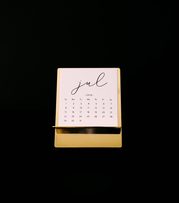 jul2018 calendar